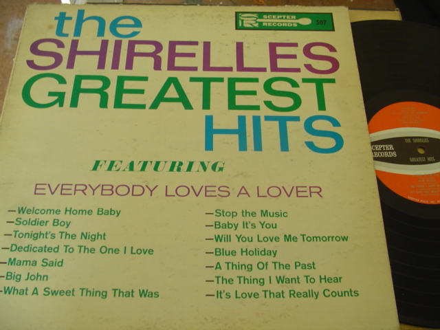 THE SHIRELLES - GREATEST HITS - SCEPTER { J 1187
