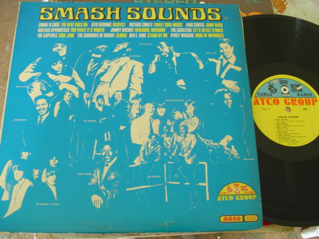 VARIOUS - SMASH SOUNDS - SOUL - ATCO MONO