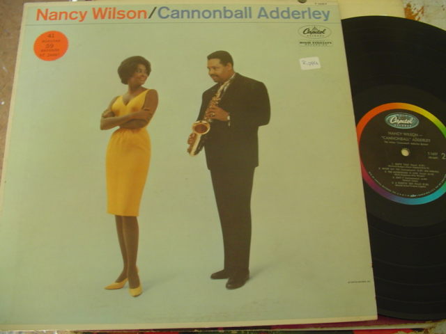 NANCY WILSON & CANNONBALL ADDERLEY - CAPITOL