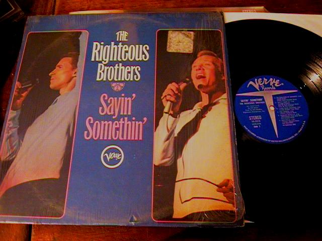 RIGHTEOUS BROTHERS - SAYIN' SOMETHIN' - VERVE