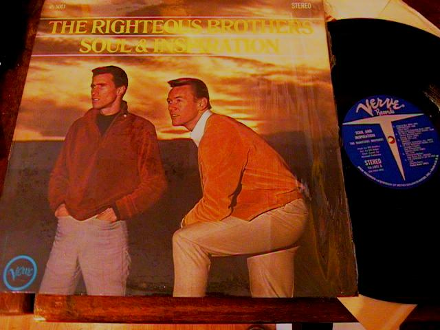 RIGHTEOUS BROTHERS - SOUL & INSPIRATION - VERVE