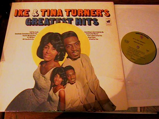IKE & TINA TURNER - GREATEST HITS - WARNER