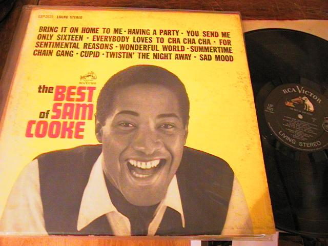 SAM COOKE - THE BEST OF - RCA LIVING STEREO RECORDS
