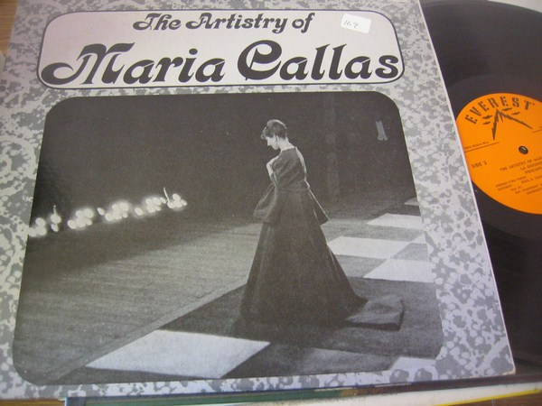 MARIA CALLAS - THE ARTISTRY - EVEREST { FV 169
