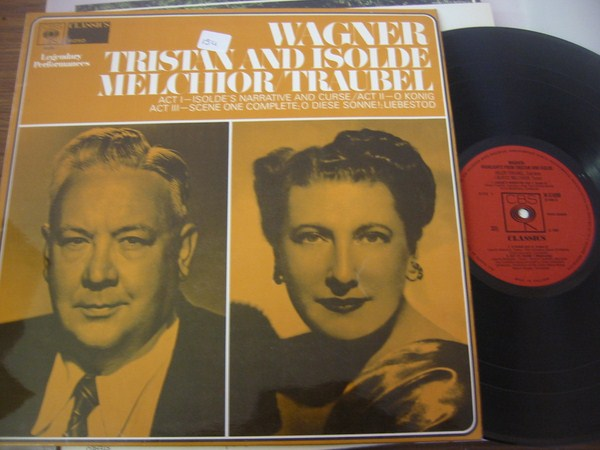 HELEN TRAUBLE & LAURITZ MELCHIOR - WAGNER CBS { FV 154