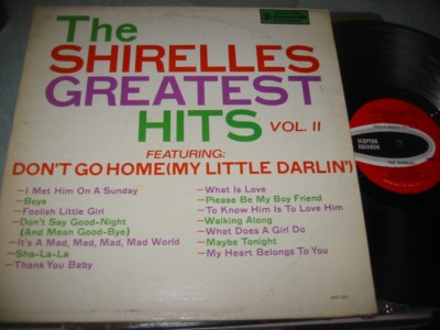 THE SHIRELLES - GREATEST HITS 2 - SCEPTER { J 1154