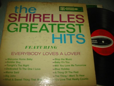 THE SHIRELLES - GREATEST HITS - SCEPTER { J 1118