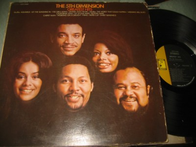 5 th DIMENSION - GREATEST HITS - SOUL CITY { J 1107