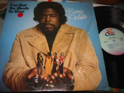 BARRY WHITE - IVE GOT SO MUCH TO GIVE { J 1095