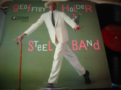 GEOFFERY HOLDER - STEEL BAND - JUDSON { J 1093