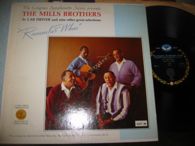 MILLS BROTHERS - REMEMBER ME - LONGINES { J 1143