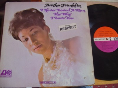 ARETHA FRANKLIN - I NEVER LOVED MAN - ATLANTIC { J 1278