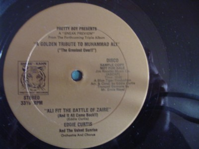 EDDIE CURTIS - TRIBUTE MUHAMMAD ALI - PRETTY BOY { J 1274