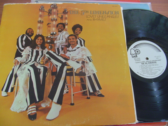 5th DIMENSION - LOVES LINES ANGLES & RHYMES - BELL