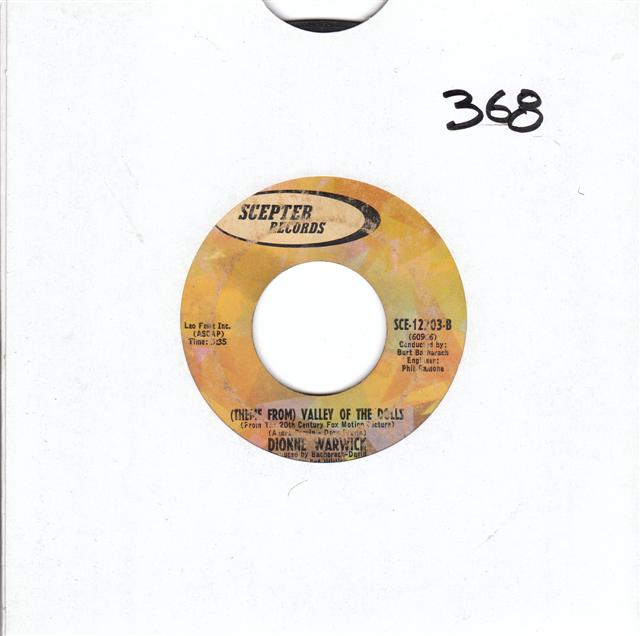 DIONNE WARWICK - SAY LITTLE PRAYER - SCEPTER 12203 { 368