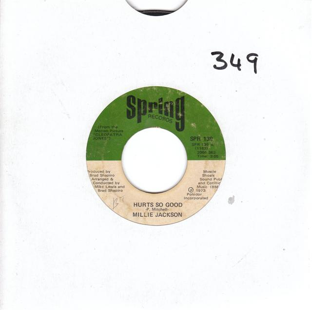 MILLIE JACKSON - HURTS SO GOOD - SPRING 139 { 349