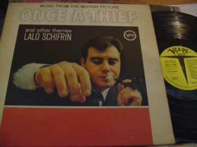 ONCE A THIEF - LALO SCHIFRIN - VERVE PROMO { 351
