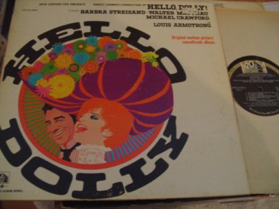 HELLO DOLLY - STREISAND - FOX RECORDS { 350