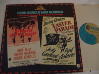 SINGIN IN THE RAIN / EASTER PARADE - MGM 2LP { 337