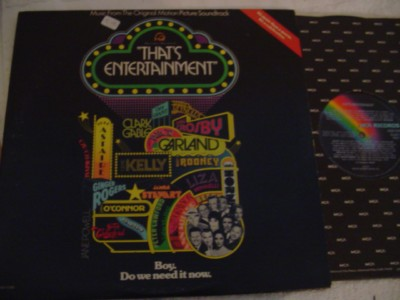 VARIOUS - THATS ENTERTAINMENT - MCA 2LP { 336
