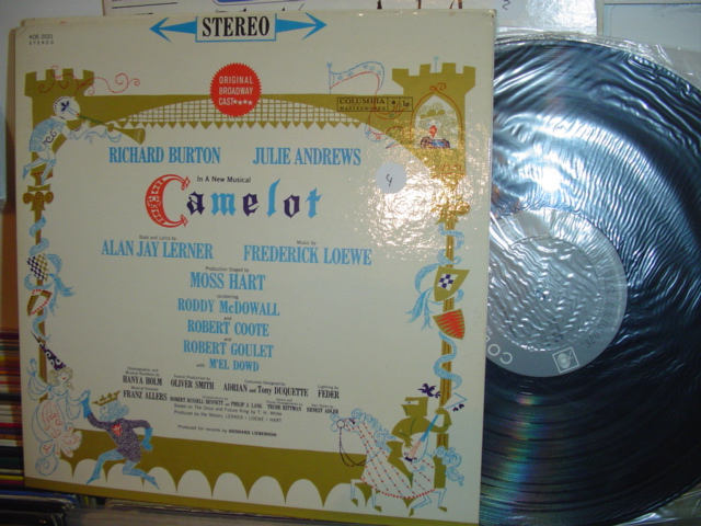 SEALED - BROADWAY CAMELOT COLUMBIA KOS 2031 1960 / 4