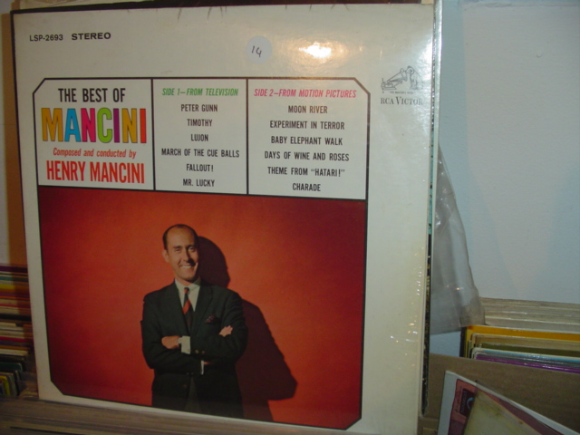 BEST OF HENRY MANCINI RCA LSP 2693 1964 / 14