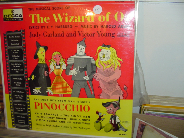 WIZARD OF OZ DECCA DL 8387 MONO 15