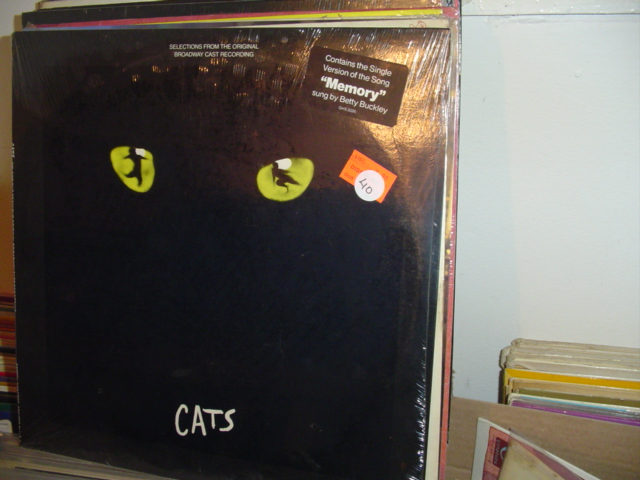SEALED - BROADWAY CATS GEFFEN GHS 2026 1981 / 40