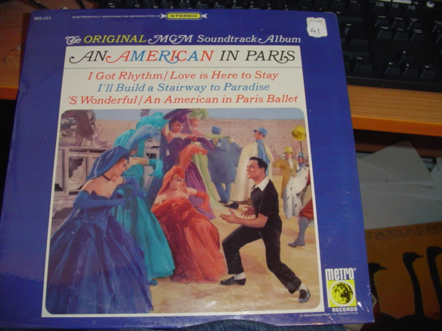 AN AMERICAN IN PARIS MGM MS 552 1960'S sealed / 41