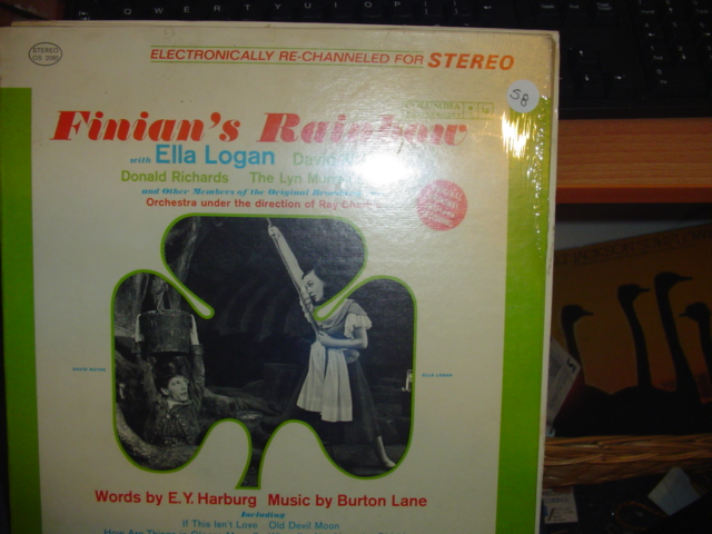 SEALED - BROADWAY FINIANS RAINBOW COLUMBIA OS 2080 / 58