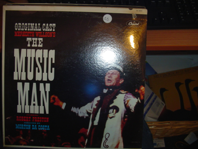SEALED - BROADWAY THE MUSIC MAN CAPITOL W 990 1960s 55