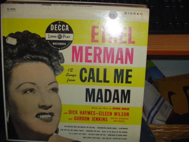 SEALED - BROADWAY CALL ME MADAM DECCA DL 79022 1960s / 53