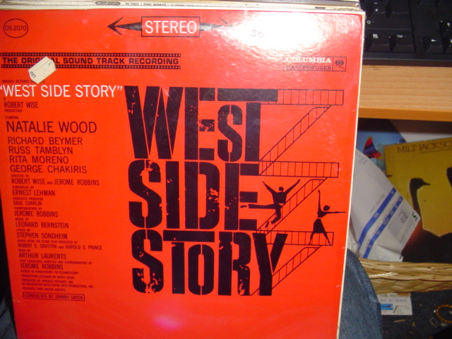 WEST SIDE STORY COLUMBIA OS 2070 1960s / 50