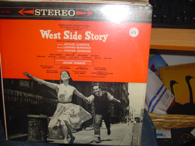 SEALED - BROADWAY West Side Story COLUMBIA OS 2001 1960s / 49