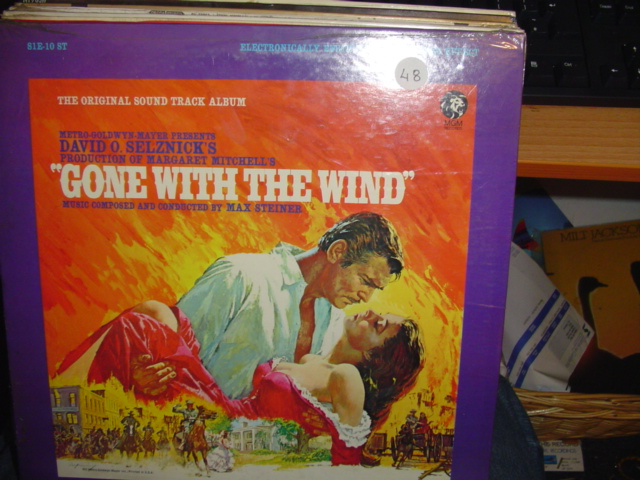 GONE WITH THE WIND MGM S1E 10ST 1960'S / 48