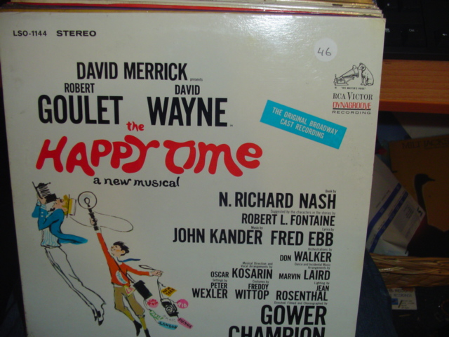 SEALED - BROADWAY HAPPY TIME RCA LSO 1144 1968 / 46