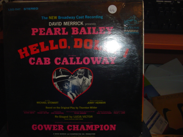 SEALED - BROADWAY HELLO DOLLY RCA LSO 1147 1967 / 44
