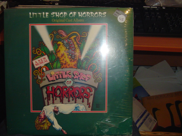 SEALED - BROADWAY LITTLE SHOP HORRORS GEFFEN 1982 / 42