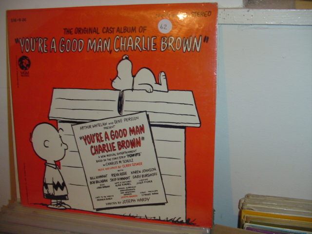 SEALED - BROADWAY GOOD MAN CHARLIE BROWN MGM 1967 / 62