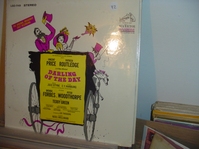 SEALED - BROADWAY DARLING OF DAY RCA LSO 1449 1968 / 72