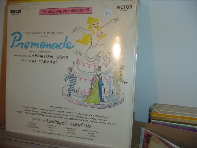 SEALED - BROADWAY PROMENADE RCA LSO 1161 1969 / 74