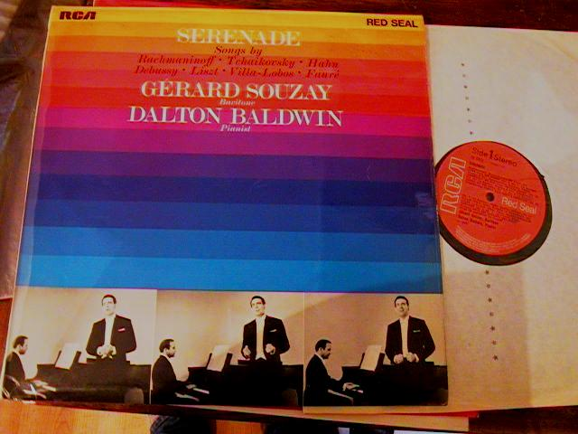 GERARD SOUZAY - SERENADE SONGS - RCA { MV 98