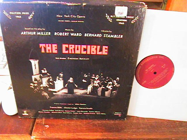 THE CRUCIBLE - ARTHUR MILLER - CRI - 2 LP SET