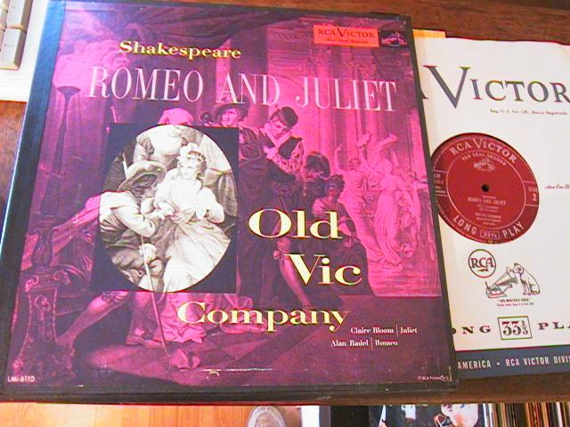 ROMEO & JULIET - SHAKESPEARE - RCA RECORDS 3 LP SET