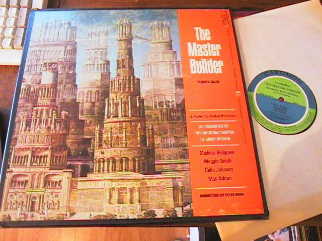 THE MASTER BUILDER - IBSEN - CADEMON - 2LP SET