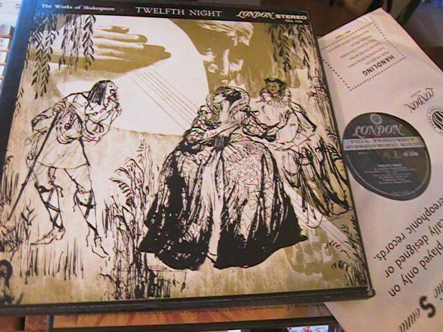 TWELFTH NIGHT - SHAKESPEARE - LONDON 3 LP SET