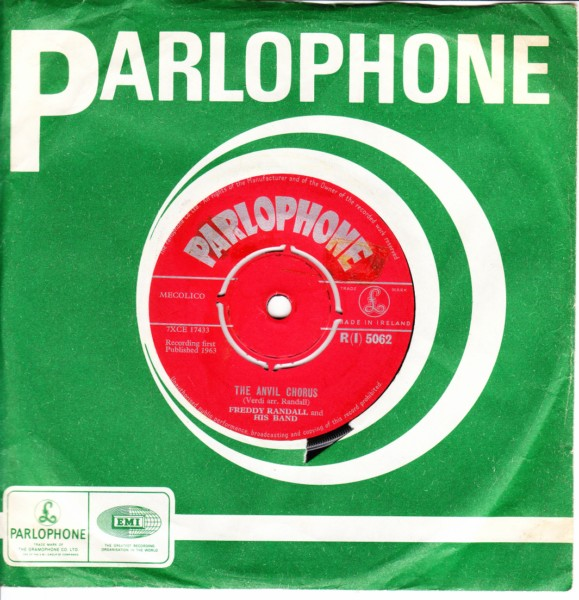 Freddie Randall - The Anvil Chorus - Parlophone Irish 3410