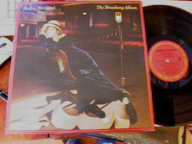BARBARA STREISAND - BROADWAY ALBUM - COLUMBIA - F 18