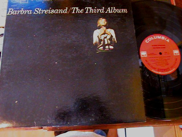 BARBARA STREISAND - THIRD ALBUM - COLUMBIA - F 17