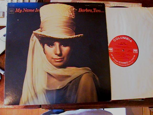 BARBARA STREISAND - MY NAME IS - COLUMBIA STEREO - F 25